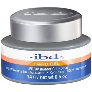 Żel Uv/Led Ibd Hard Gel Builder Gel 14g Clear
