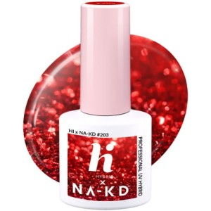 Hi Hybrid 203 Red Elements 5ml kolorowy lakier hybrydowy