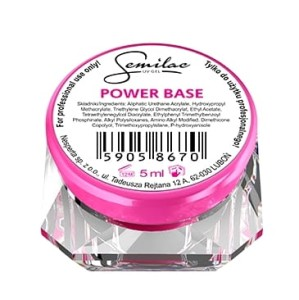 Semilac Żel bazowy UV Gel Power Base 5ml