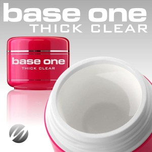 Silcare Żel Uv Base One Thick Clear 30g