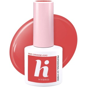 Hi Hybrid 242 Red Orange 5ml kolorowy lakier hybrydowy