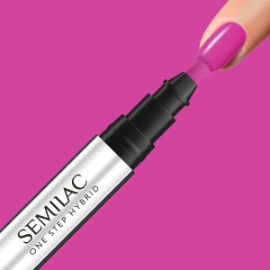 Semilac S685 One Step Hybrid Marker Pink Purple 3ml lakier hybrydowy 3w1