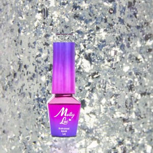 Molly Lac 152 Luxury Limited Gem Silver Be Chic lakier hybrydowy 5ml