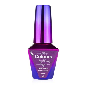 Molly Lac Baza Colours by Molly Soft Base lakier hybrydowy 10 ml