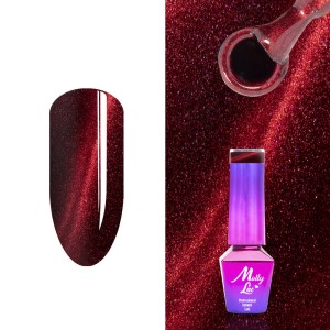 Molly Lac 180 Cat Eye Fire Runway lakier hybrydowy 5ml