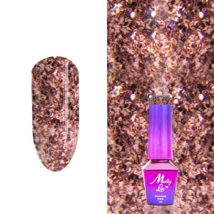 Molly Lac 33 Queens Of Life Rose Gold lakier hybrydowy 5ml