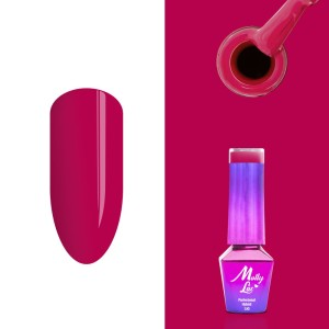 Molly Lac 147 Flamingo Strawberry lakier hybrydowy 5ml